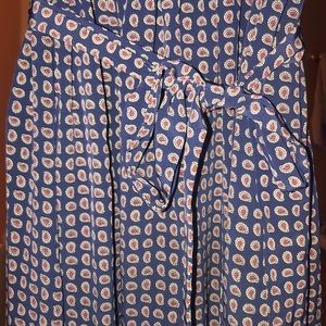 Talbots Dresses - Talbots Beautiful Long Dress with Tie Belt size 10